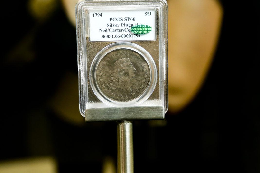 ocenenie mincí