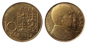česko-slovenské mince