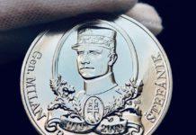 Pamätná medaila zadarmo