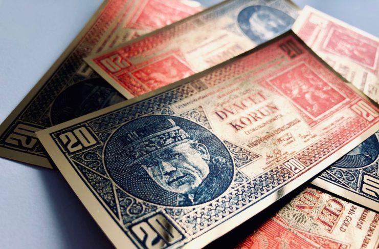 bankovka za € 1!