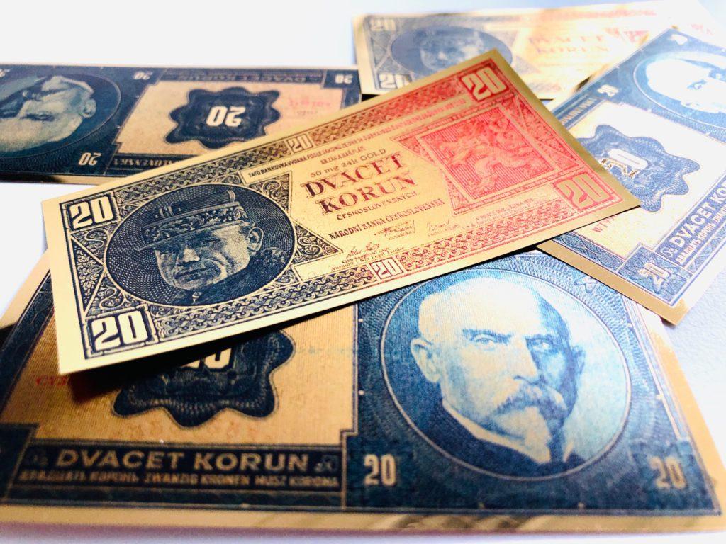bankovka za € 1